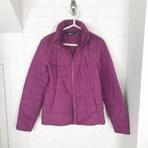 {The North Face} Pink Light Puffer Jacket